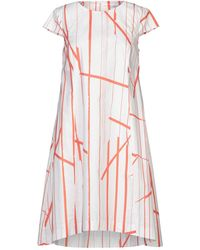 Peserico - Knielanges Kleid - Lyst