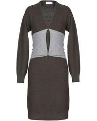 Carven Short Dress - Multicolour