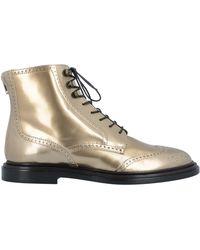 Agl Attilio Giusti Leombruni Ankle Boots - Metallic