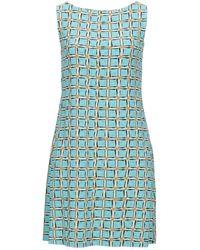 Maliparmi Short Dress - Blue