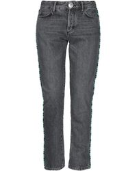 Alanui Pantalon en jean - Gris