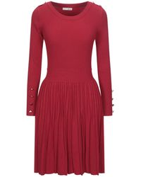 Relish Short Dress - Red