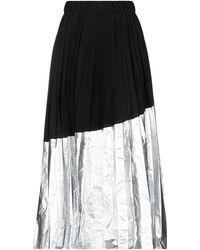 Nude Long Skirt - Black