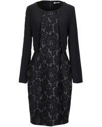 LUCKYLU  Milano Midi Dress - Black