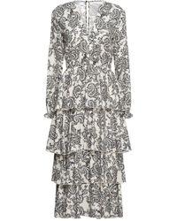 Soallure 3/4 Length Dress - White