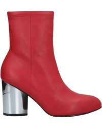Opening Ceremony Ankle Boots - Red