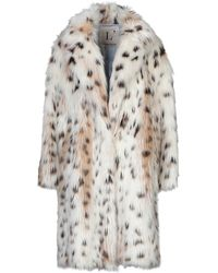 L'Autre Chose Teddy Coat - White