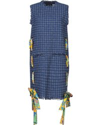 MSGM Short Dress - Blue