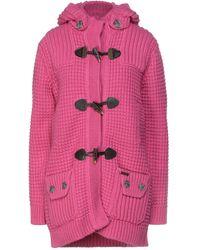 Bark Coat - Pink