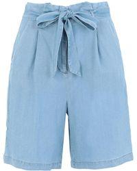 Vero Moda Shorts & Bermuda Shorts - Blue