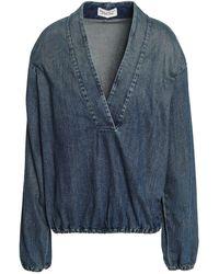 Nili Lotan Denim Shirt - Blue