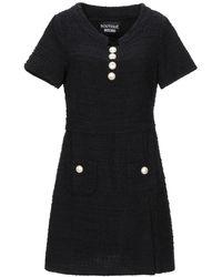 Boutique Moschino Short Dress - Black