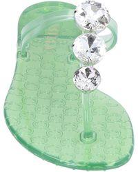 Le Silla Toe Strap Sandals - Green