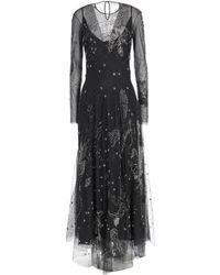 Amen Long Dress - Black