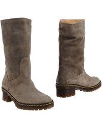 Key Té Boots - Gray