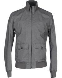 Dolce   Gabbana Monkey-print Reversible Shell Bomber Jacket in Gray ... b25d6e63b