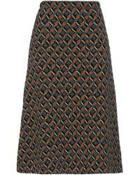 Siyu Falda a media pierna - Multicolor