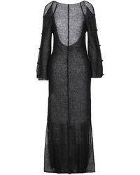 Eckhaus Latta Long Dress - Black