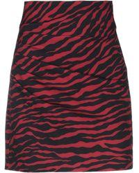 P.A.R.O.S.H. Knee Length Skirt - Red