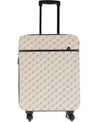 Stella McCartney Wheeled luggage - Natural