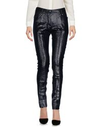 Plein Sud Jeanius - Casual Trousers - Lyst
