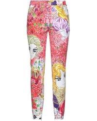 Moschino Denim Trousers - Pink