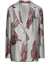 Christian Wijnants Suit Jacket - Gray