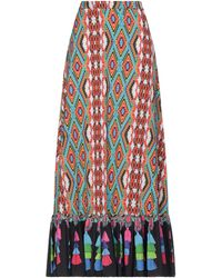 Manoush Long Skirt - Orange