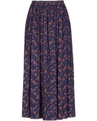 Vivienne Westwood Anglomania Long Skirt - Purple
