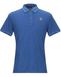 Blauer Poloshirt - Blau