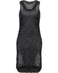 Rebel Queen By Liu Jo Short Dress - Black