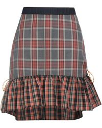 Manoush Midi Skirt - Grey