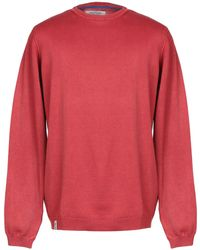 Fred Mello Sweater - Red