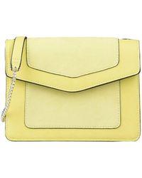OLGA BERG Cross-body Bag - Yellow