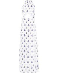 Seren London Long Dress - White