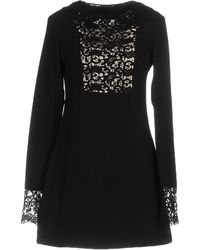 SCEE by TWINSET Short Dress - Black