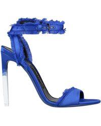 Tom Ford Sandale - Blau