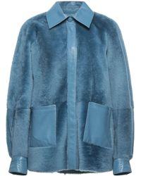 REMAIN Birger Christensen Jacket - Blue
