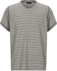 Roberto Collina T-shirt - Gris