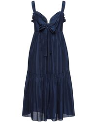 MASSCOB Vestito longuette - Blu