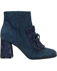 Loretta Pettinari Ankle Boots - Blue