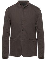 Transit Suit Jacket - Brown