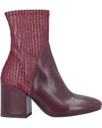 Loretta Pettinari Ankle Boots - Purple