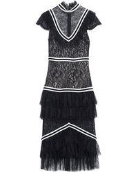 Alice + Olivia Knee-length Dress - Black
