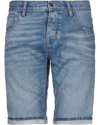 Antony Morato Shorts jeans - Blu