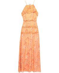 INTROPIA Robe longue - Orange