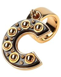 Roberto Cavalli Ring - Black