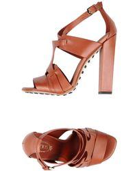 Tod's Sandale - Braun