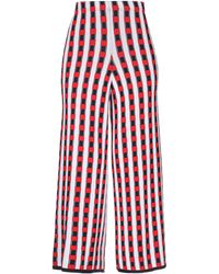 VIKI-AND Casual Trousers - Red