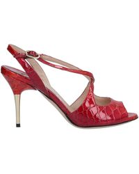 Luciano Padovan Sandals - Red